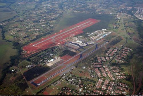 Aeropuerto de Brasilia vista aérea