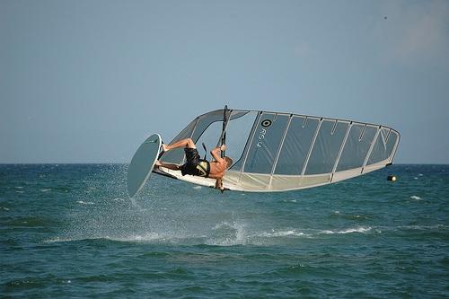 Windsurf en Natal