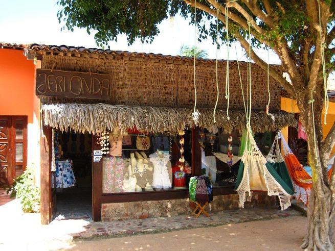 Tienda en Jericoacoara