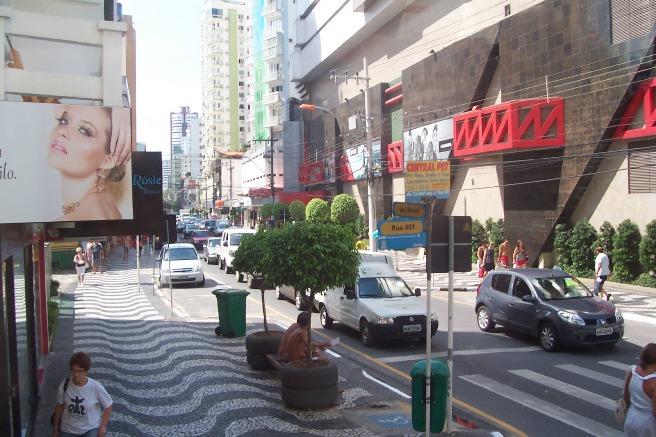Avenida Brasil en Camboriú