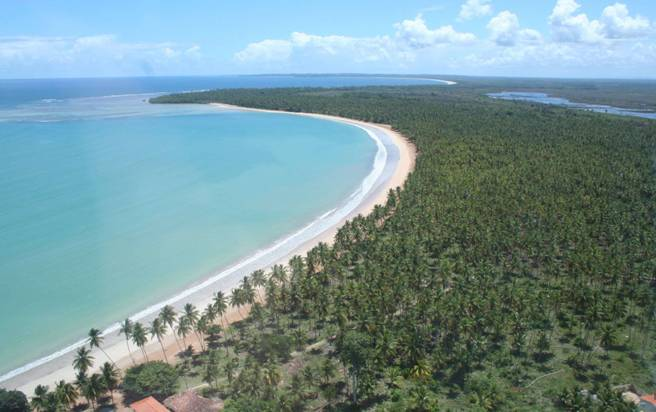 playa desierta de Garapuá