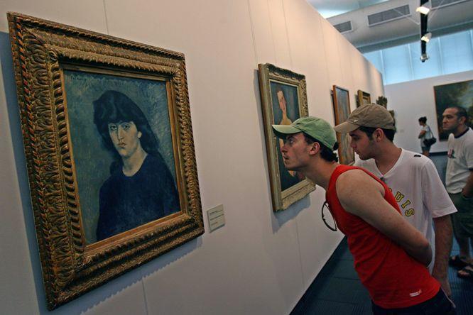 Picasso en Pinacoteca de San Pablo