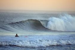 Surf en playa Moçambique