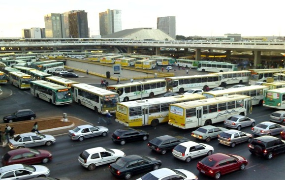Llegar y moverse en Brasilia