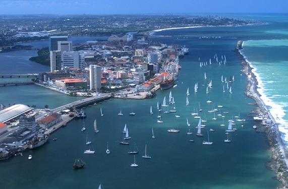 Navegación en Recife