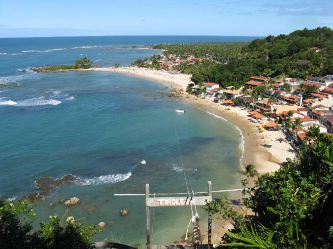 Primera playa del Morro de San Pablo