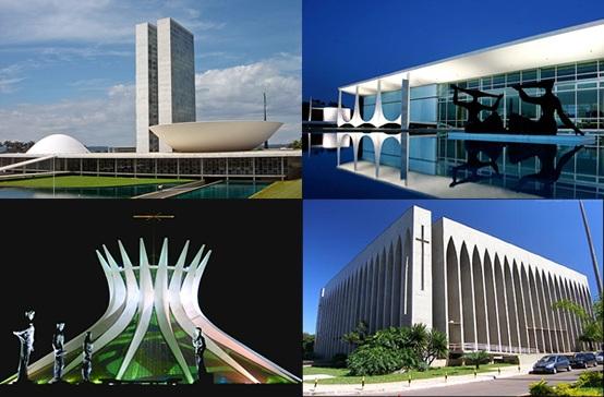 Obras arquitectónicas de Brasilia