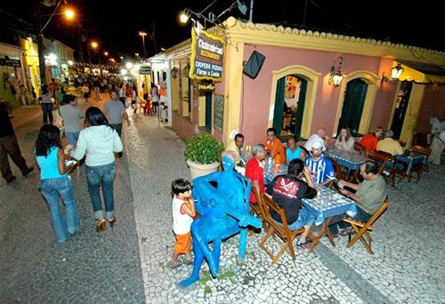 Pasarela del Alcohol de Porto Seguro