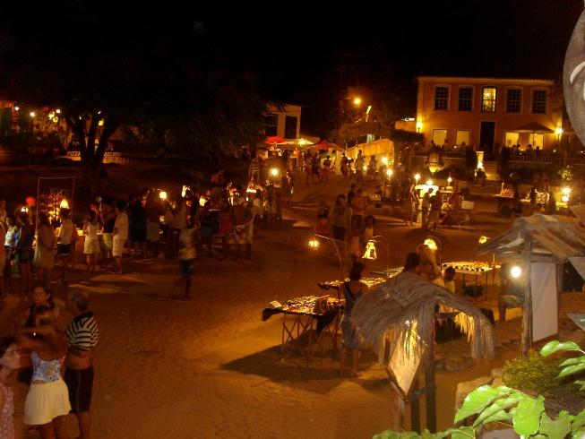 Noche en el Morro de San Pablo