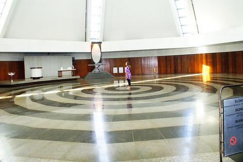 Interior del Templo de la Legión de la Buena Voluntad