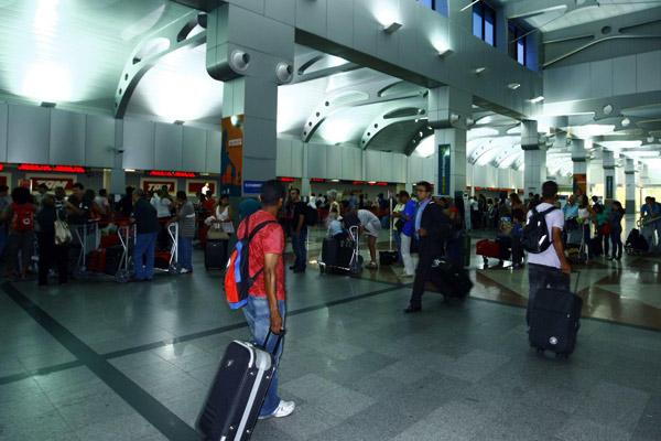 Interior del Aeropuerto Internacional Deputado Luís Eduardo Magalhães de Salvador