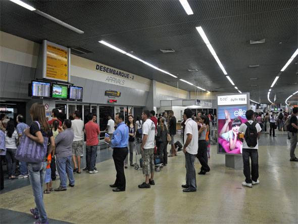 Aeropuerto de Manaus, Aeropuerto Internacional Eduardo Gomes