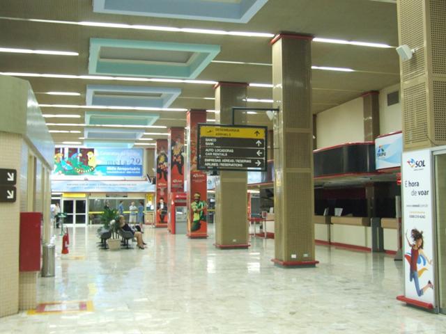 Interior del Aeropuerto de Foz de Iguazú