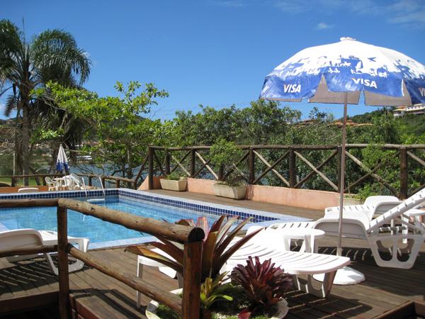 Alojamiento en Buzios: Hotel Barra da Lagoa