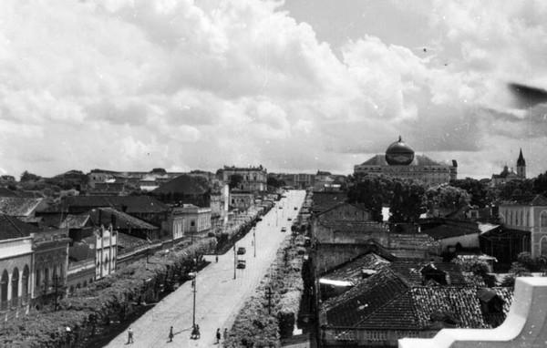 Historia del Amazonas: Manaus a fines del siglo XIX