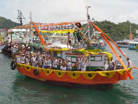 Festividades en Angra dos Reis