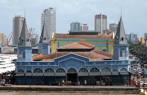 Mercado Ver-O-Peso en Belém