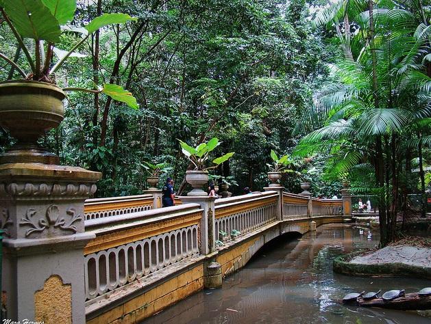 Jardín Botánico Bosque Rodrigues Alves en Belém