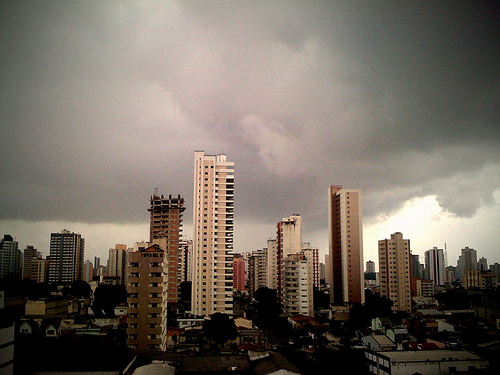 Estación de lluvia en Belém