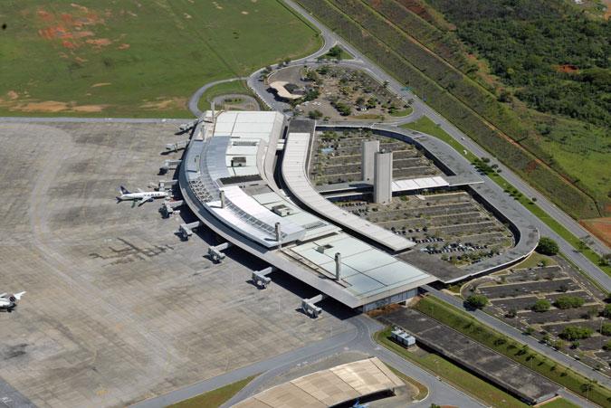 Aeropuerto de Confins en Belo Horizonte