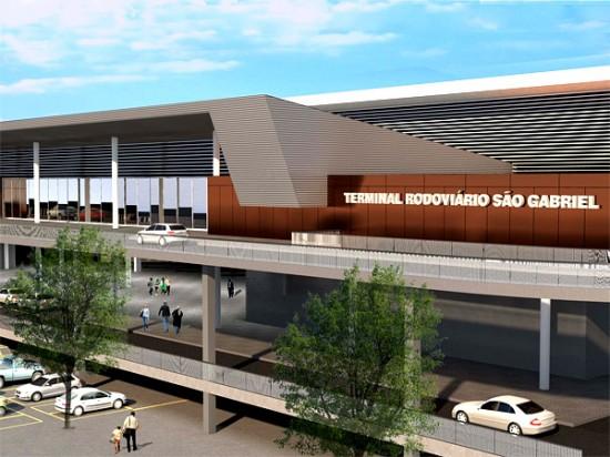 Estación Rodoviaria en Belo Horizonte