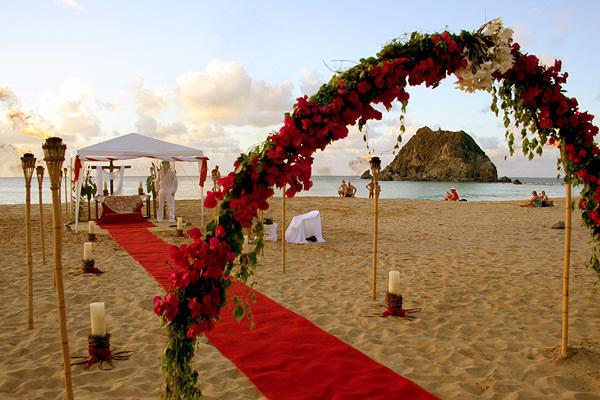 Boda en el paraíso, casamiento en Fernando de Noronha