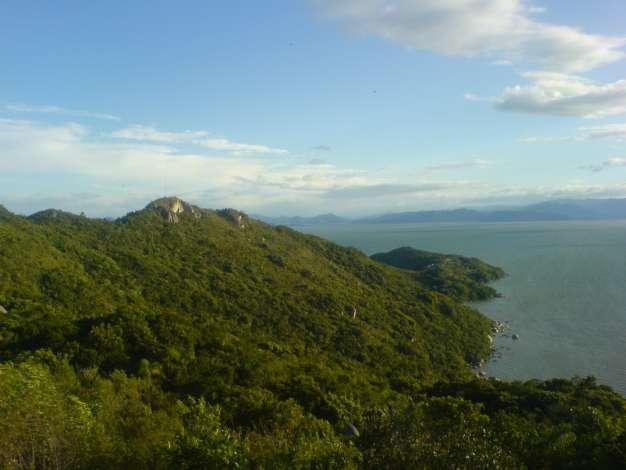 Parque do Morro do Macaco en Bombas y Bombinhas