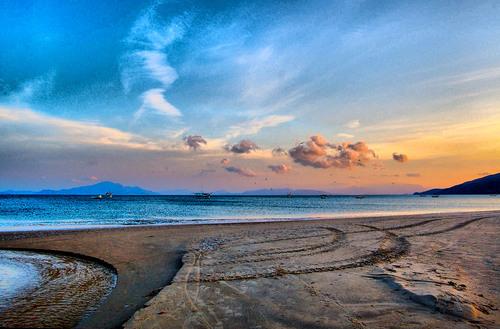 Playa de Zimbros en Bombas y Bombinhas