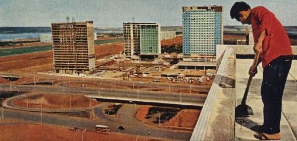 Construcción de Brasilia