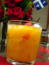 Receta de caipiroska de naranja