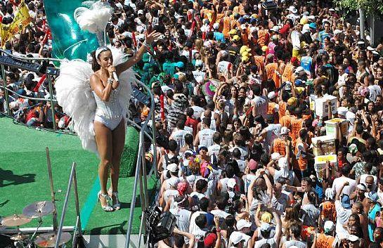 Blocos en el Carnaval de Rio
