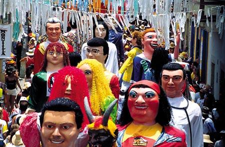 Carnaval de Olinda en Pernambuco