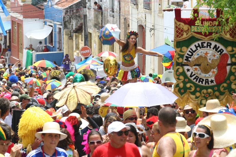 El singular carnaval de Olinda