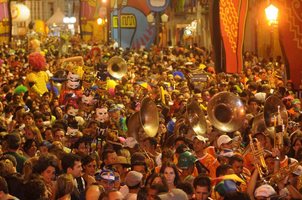 Carnaval de Recife: fiestas en el centro antiguo