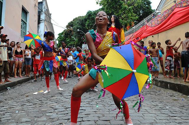 Danza en el Carnaval de Olinda