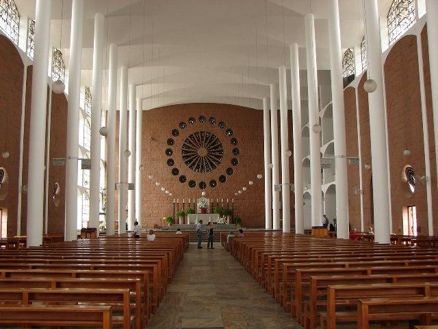 Interior de la Catedral de Blumenau