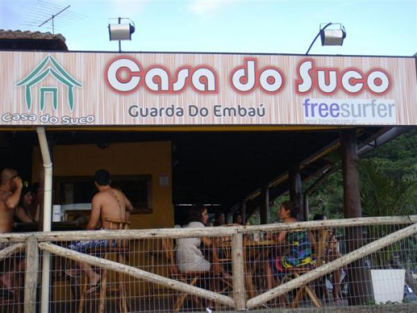 Casa dos Sucos en Guarda do Embaú
