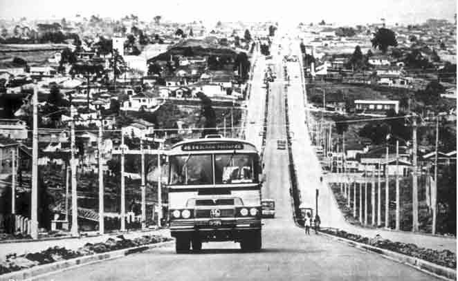 Historia de Curitiba: desarrollo urbano