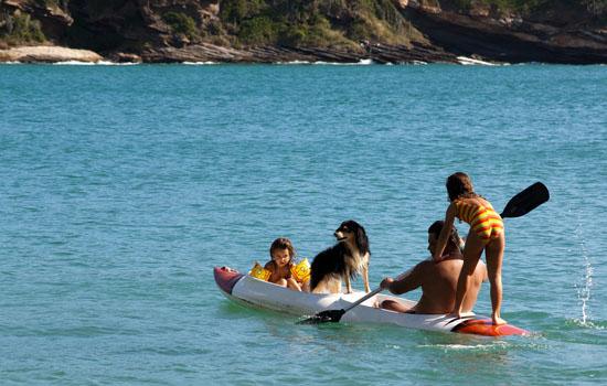 Diez destinos recomendados para viajes en familia a Brasil: Buzios