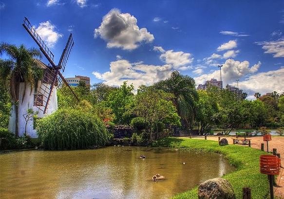 Parque Monhos de Vento en Porto Alegre