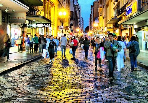 Rua da Praia en Porto Alegre