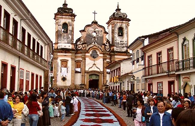 Barroco en Ouro Preto