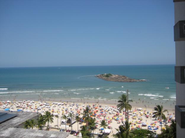 Playas brasileñas familiares: Enseada en Guarujá
