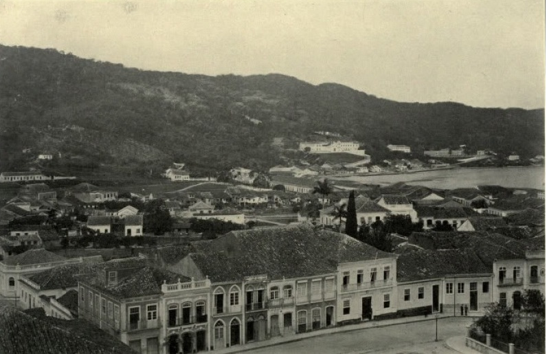 Historia de Florianópolis, foto antigua de la ciudad
