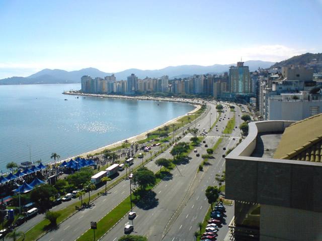 Fotos de Florianópolis: mar y ciudad