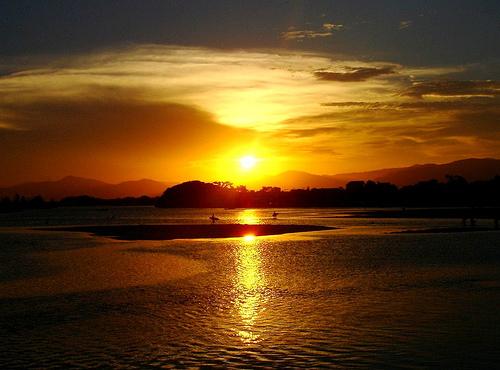 Clima en Guarda do Embaú: días soleados