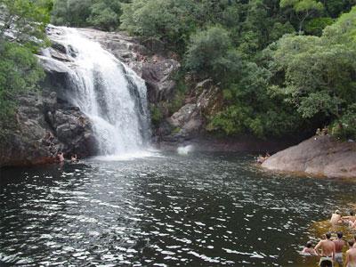 Cachoeira da Zanela en Guarda do Embaú