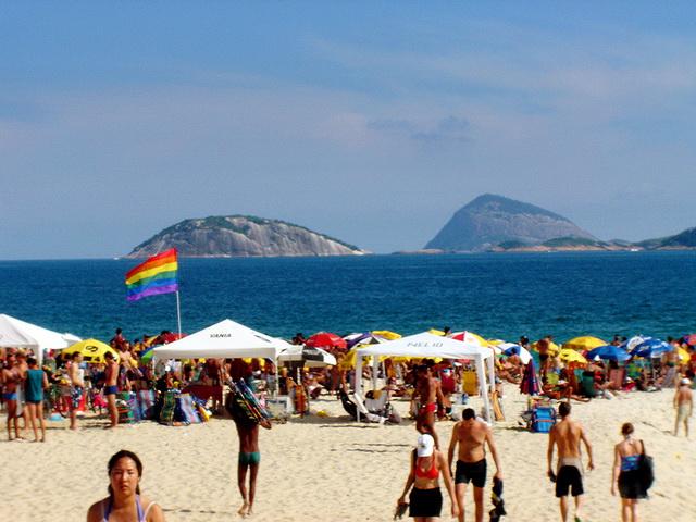 Playa Farme en Rio de Janeiro. Guia gay de Rio.