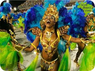 Historia de la samba del Brasil