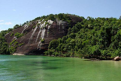 Isla de Itanhangá en Angra